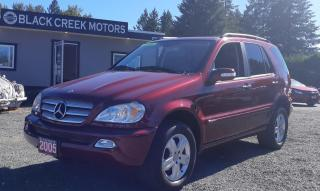 Used 2005 Mercedes-Benz M-Class 3.7L Special Edition for sale in Black Creek, BC
