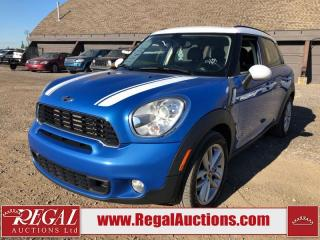 Used 2011 MINI Cooper Countryman COOPER S 4D UTILITY AWD for sale in Calgary, AB