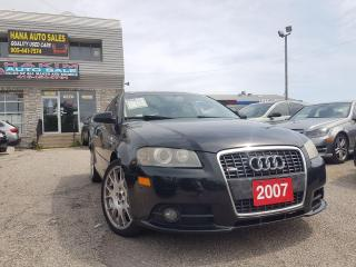 Used 2007 Audi A3 S-Line/AWD/MOONROOF/UPGRADED!! for sale in Pickering, ON