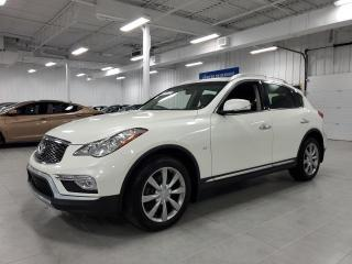 Used 2017 Infiniti QX50 AWD - CUIR + TOIT + JAMAIS ACCIDENTE !!! for sale in Saint-Eustache, QC