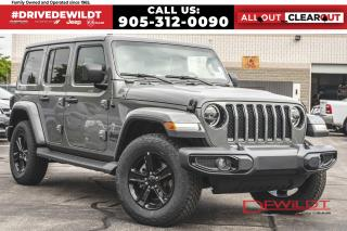 New 2021 Jeep Wrangler Unlimited SAHARA ALTITUDE | NAV + SOUND | DUAL TOP GRP | for sale in Hamilton, ON