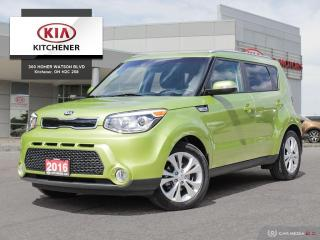 Used 2016 Kia Soul EX PLUS, CARFAX CLEAN!!! for sale in Kitchener, ON