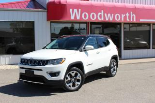 Used 2018 Jeep Compass LIMITED for sale in Kenton, MB