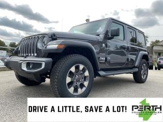New 2021 Jeep Wrangler Unlimited Sahara | Leather | Dual Top | Remote Start | U Con for sale in Mitchell, ON