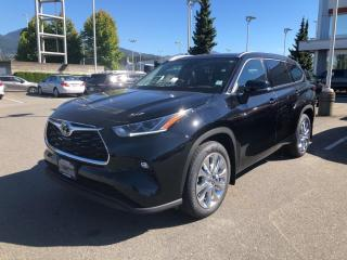 New 2020 Toyota Highlander LIMITED  for sale in North Vancouver, BC