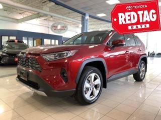 New 2020 Toyota RAV4 Hybrid LTD RAV4 HYBRID RAV4 Hybrid Limited for sale in Mississauga, ON