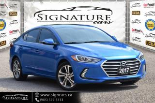 Used 2017 Hyundai Elantra 4dr Sdn. NO ACCIDENT. ONE OWNER. HEATED SEATS/STEERING. for sale in Mississauga, ON