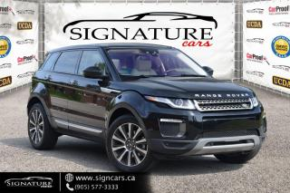 Used 2017 Land Rover Evoque 5dr HB HSE. NO ACCIDENTS. HEATED SEATS/STEERING. for sale in Mississauga, ON