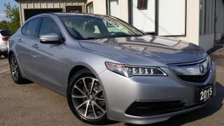 Used 2015 Acura TLX 9-Spd AT SH-AWD - LEATHER! BACK-UP CAM! for sale in Kitchener, ON