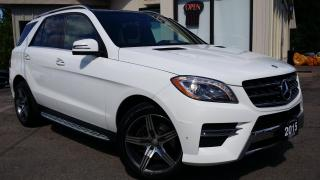 Used 2015 Mercedes-Benz ML-Class ML350 BlueTEC - LEATHER! PANO ROOF! 360 CAM! NAVIGATION! BSM! for sale in Kitchener, ON