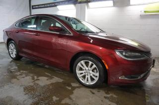 Used 2015 Chrysler 200 LIMITED CERTIFIED 2YR WARRANTY *FREE ACCIDENT* BLUETOOTH HEATED CRUISE ALLOYS AUX for sale in Milton, ON