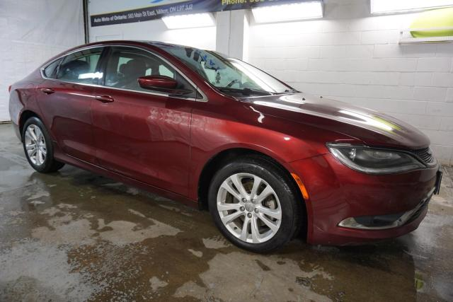 2015 Chrysler 200 LIMITED CERTIFIED 2YR WARRANTY *FREE ACCIDENT* BLUETOOTH HEATED CRUISE ALLOYS AUX