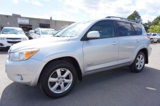 Used 2008 Toyota RAV4 LIMITED V6 4WD CERTIFIED 2YR WARRANTY *FREE ACCIDENT* BLUETOOTH SUNROOF LEATHER ALLOYS for sale in Milton, ON