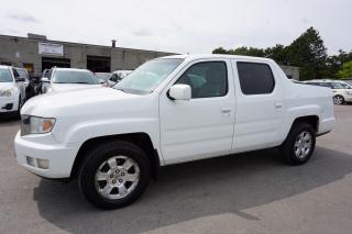 Used 2009 Honda Ridgeline RTL 4WD CERTIFIED 2YR WARRANTY *FREE ACCIDENT* CRUISE ALLOYS BED COVER AUX POWER OPTIONS for sale in Milton, ON