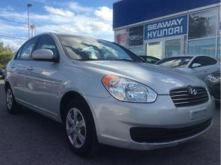 Used 2011 Hyundai Accent GL Auto - A/C - Low KM's - Keyless Entry for sale in Cornwall, ON