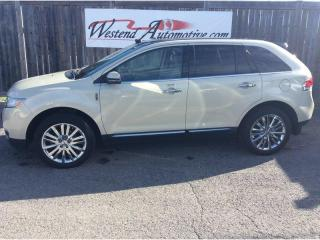 Used 2014 Lincoln MKX mkx , AWD , Leather , Sunroof , Loaded for sale in Stittsville, ON