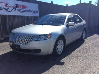 Used 2012 Lincoln MKZ MKZ for sale in Stittsville, ON
