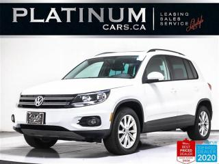 Used 2015 Volkswagen Tiguan Comfortline 4Motion, AWD, CAM, BLUETOOTH, HEATED for sale in Toronto, ON