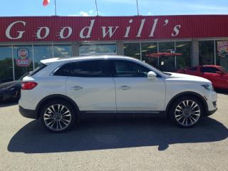 Used 2016 Lincoln MKX RESERVE! LOADED! NAV! B/T! REMOTE START! SUNROOF! for sale in Aylmer, ON