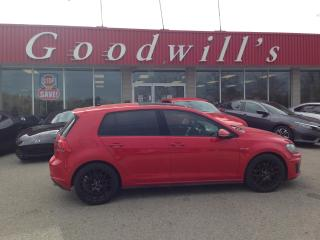 Used 2016 Volkswagen GTI GTI! CLEAN CARFAX! MANUAL! HEATED SEATS! B/T! for sale in Aylmer, ON