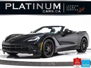 Used 2016 Chevrolet Corvette STINGRAY Z51 3LT, CONVERTIBLE, NAV, CAM,  HUD, VEN for sale in Toronto, ON