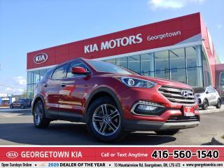 Used 2017 Hyundai Santa Fe Sport SPORT | HEATED SEATS | BLUETOOTH | B/U CAM |ALLOYS for sale in Georgetown, ON