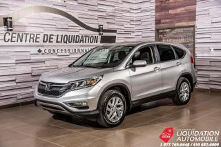 Used 2016 Honda CR-V EX + BLIND SPOT DETECT. + SUNROOF + DUAL ZONE AC. for sale in Laval, QC