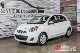 Used 2016 Nissan Micra SV + BLUETOOTH + AIR CLIM + CRUISE CTRL. for sale in Laval, QC