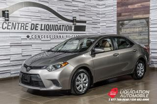 Used 2015 Toyota Corolla LE+CAMERA DE RECUL+GR ELECTRIQUE+AIR CLIM for sale in Laval, QC