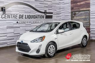 Used 2016 Toyota Prius c Technology + NAVIGATION + CAM. DE RECUL for sale in Laval, QC