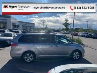 Used 2017 Toyota Sienna LE  - Heated Seats -  Bluetooth - $165 B/W for sale in Ottawa, ON