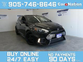Used 2017 Ford Focus RS | AWD | RECARO SEATS | 350HP | NAV | SUNROOF for sale in Brantford, ON