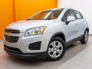 Used 2016 Chevrolet Trax LS AUTOMATIQUE *BLUETOOTH* A/C *WI-FI* USB *PROMO for sale in St-Jérôme, QC