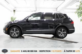 Used 2018 Volkswagen Tiguan Highline 4MOTION + 5 Pass + Toit + Keyless for sale in Québec, QC