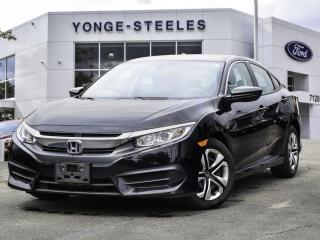 Used 2017 Honda Civic SEDAN LX for sale in Thornhill, ON