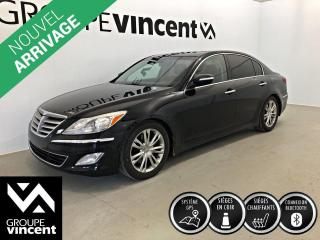 Used 2013 Hyundai Genesis 3.8 GPS CUIR ** GARANTIE 10 ANS ** Confort et luxe à prix abordable! for sale in Shawinigan, QC