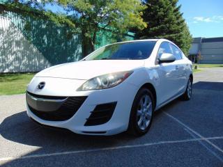 Used 2010 Mazda MAZDA3 *****AUTOMATIQUE****FINANCEMENT MAISON** for sale in St-Eustache, QC