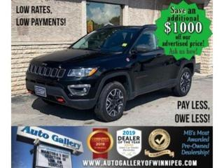 Used 2019 Jeep Compass Trailhawk* Awd/lthr/Nav/Roof for sale in Winnipeg, MB