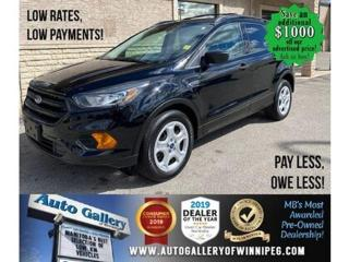 Used 2018 Ford Escape S* B.cam/B.tooth for sale in Winnipeg, MB
