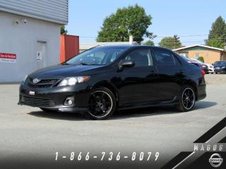 Used 2011 Toyota Corolla XRS + TOIT + MAGS + A/C + CRUISE! for sale in Magog, QC