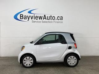 Used 2018 Smart fortwo electric drive Passion - REVERSE CAM! HTD SEATS! A/C! 14,000KMS! for sale in Belleville, ON