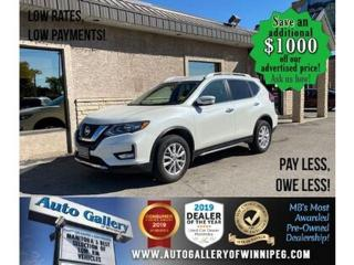 Used 2017 Nissan Rogue SV *Awd/B.cam/B.tooth/Htd seats for sale in Winnipeg, MB
