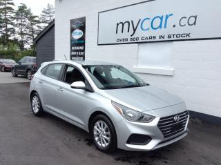 Used 2019 Hyundai Accent Preferred HEATED SEATS, ALLOYS, BACKUP CAM! for sale in Richmond, ON