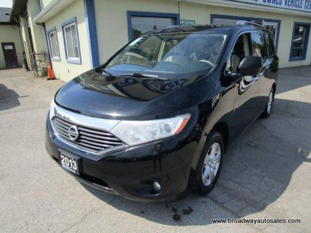 2013 Nissan Quest FAMILY MOVING SV MODEL 7 PASSENGER 3.5L - V6.. SLIDING CAPTAINS.. REAR FOLD-AWAY SEATS.. HEATED SEATS.. BACK-UP CAMERA.. POWER SLIDING DOORS..