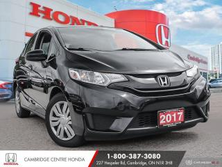 Used 2017 Honda Fit LX REARVIEW CAMERA WITH GUIDELINES | BLUETOOTH | ECON MODE for sale in Cambridge, ON