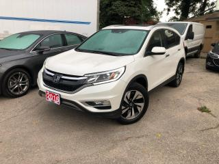 Used 2016 Honda CR-V Touring for sale in Kitchener, ON