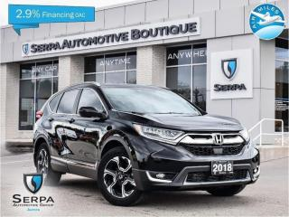 Used 2018 Honda CR-V Touring COVID-19 INSTANT CREDIT, SEE DEALER FOR DETAILS | NO PAYMENTS FOR 90 DAYS OAC for sale in Aurora, ON