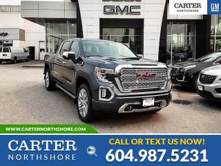 New 2020 GMC Sierra 1500 Denali NAVIGATION - MOONROOF - WIRELESS CHARGING - LEATHER for sale in North Vancouver, BC