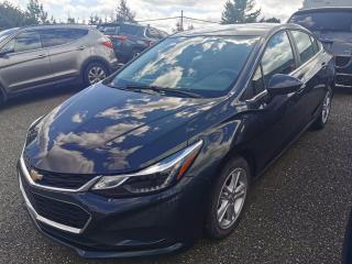 Used 2018 Chevrolet Cruze LT / CAMERA / SIÈGE CHAUFFANT / AIR CLIM for sale in Sherbrooke, QC