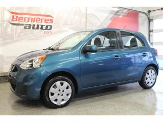 Used 2017 Nissan Micra SV for sale in Lévis, QC